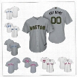 Custom Boston Red Sox Betts White Gray 2017 Father Mother Memorial Day sewn on Any Name Number Mens Women Youth baseball Jersey S-4XL
