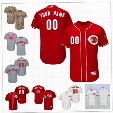 Custom Flex Base Cincinnati Reds Sale Cozart Gennett Hamilton Votto Griffey Red Gray White Camo Stitched Any Name Number Mens Jerseys S-4XL