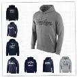 Free Shipping New York Yankees Logo Performance Pullover Hoodie - Navy Sweatshirts baseball Hoodie or costom any pictures Mix Order