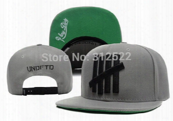 Wholesale-2015 Brand New Men And Women Adjustable Undefeated 5 Strike Hiphop Snapback Snap Back Caps Baseball Basketball Hats Cap Bone