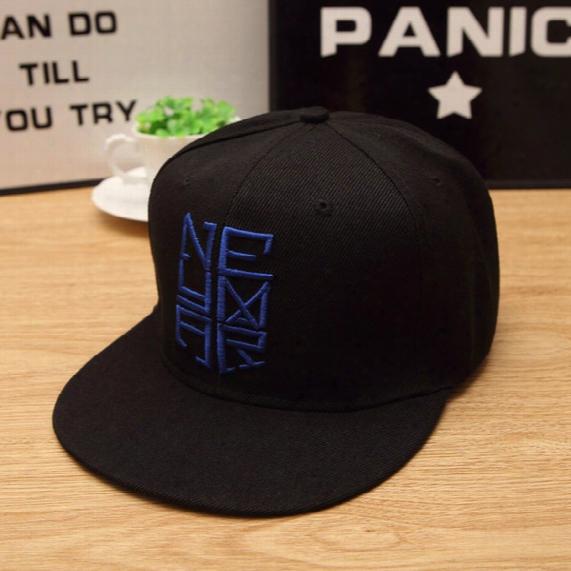 Wholesale- 2016new Hot Sale Neymar Letter Cotton Baseball Cap Unisex Men And Women Summer Snapback Caps Sun Hip-hop Casquette Couple Hats