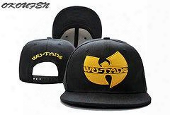 Wholesale- Fashion Wu Tang Baseball Caps New Wu-tang Men's Snapback Embroidery Hip-hop Adjustable Hats Women Casquette Snap Back Wholesale
