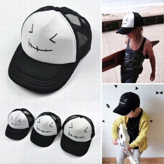 Wholesale Ins Adjustable Boys Baby Childrens Adult Ball Cap Active Baseball Cloches Ball Caps Kids Boy Sun Hat Hip-hop Hats