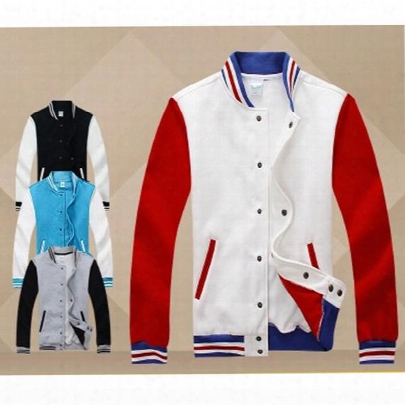 Wholesale-men Mass Effect Patchwork Plain Sport Sweatsuit Raglan Sleeve Blank Hoodie With Stand Collar Hiphop Baseball Varsity Jacket