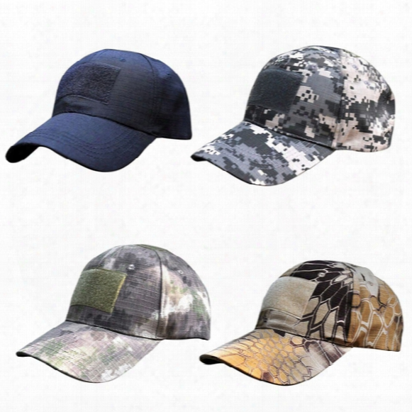 Wholesale- Vogue Women Men Headwear Hats Unisex Tactical Cap American Us Flag Patch Baseball Hat Er4