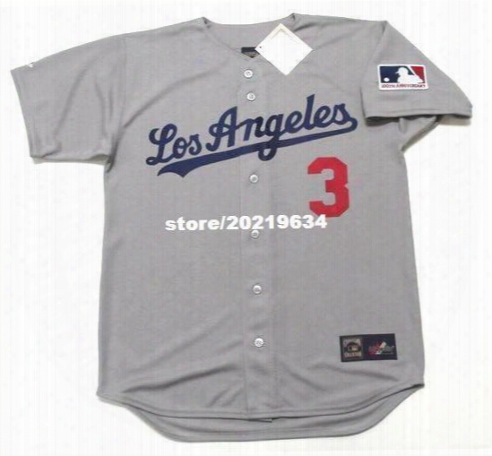 Willie Davis Los Angeles Dodgers 1969 Majestic Cooperstown Away Baseball Jersey
