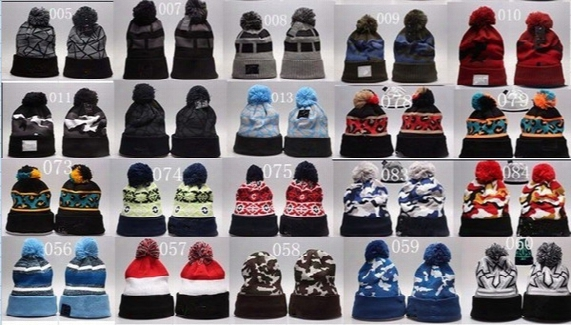 Winter Basketball Bull Pom Beanies With Fleece Football Beanies Last Kings Cap Knitted Skull Beanies Caps All Teams Football Baseball Beanie