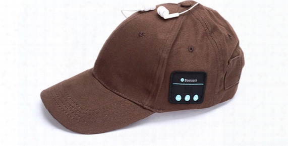 Wireless Bluetooth Headphone Cap Smart Call Music Hat Outdoor Sports Baseball For All Phone And Dhl Ferr Shipping