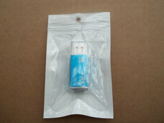 12x7.5cm Zipper Clear+white Retail Plastic Packaging Bag,hang Hole Poly Small Adorn Article Accessories Package Bag