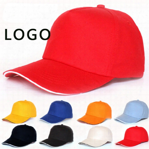 18 Colors Outsport Caps Summer Adult Casual Cap Blank Trucker Hats Snapback Hats Accept Custom Made Logo Men Women Baseball Hat