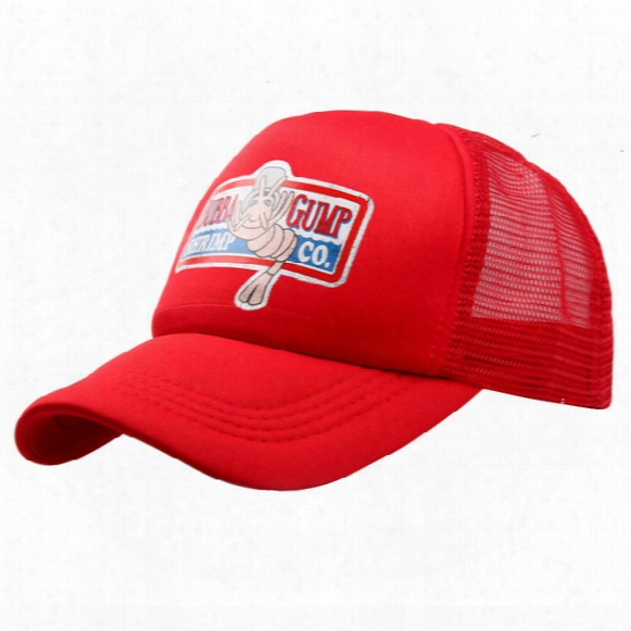 1994 Bubba Gump Cap Shrimp Co. Truck Cap Adults Mens Womens Sport Summer Adjustable Strapback Baseball Cap Forrest Gump Mesh Hat Sun Visor
