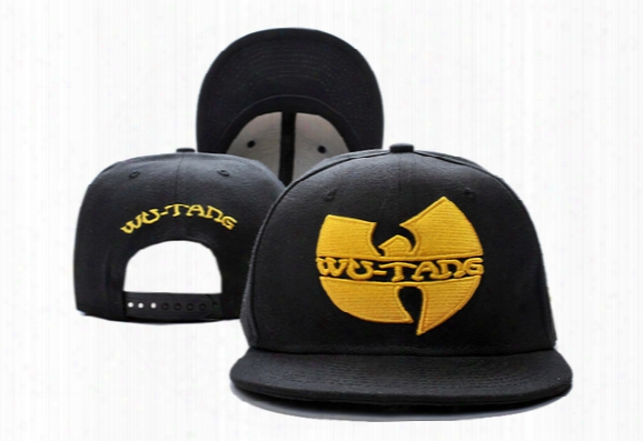 2016 Hot Sale Black Wu Tang Snapback Hats Wutang Baseball Cap For Men Women Summer Spring Winter Fashion Street Hats Ty