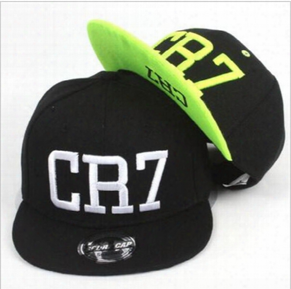 2016 New Summer Children Ronaldo Cr7 Snapback Hats Kids Baseball Boys Girls Messi Neymar Casquette Hip Hop Caps