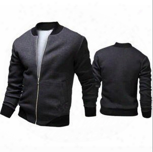 2017 Fashion Hi-street Mens Military Style Ma1 Bomber Hip Hop Jacket Black Mens Slim Fit Hip Hop Varsity Baseball Jacket