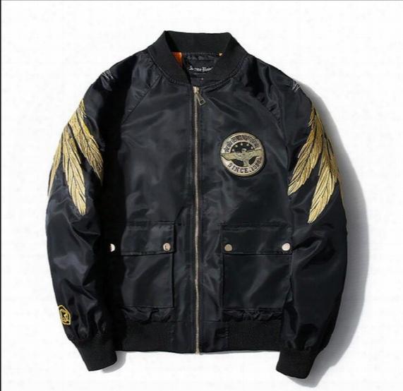2017 Kanye West Y-3 Jacket Spring And Autumn Season Embroidered Ma-1 Pilot Jacket Men Women Baseball Thin Streetwear Jacket Free Delivery ..
