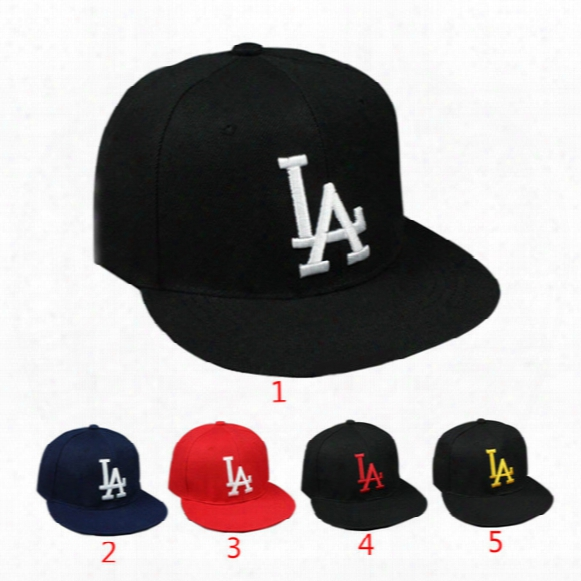 2017 La Letters Embroidery Baseball Cap Casual Outdoor Sports Snapback Dsq Hats Cap For Men