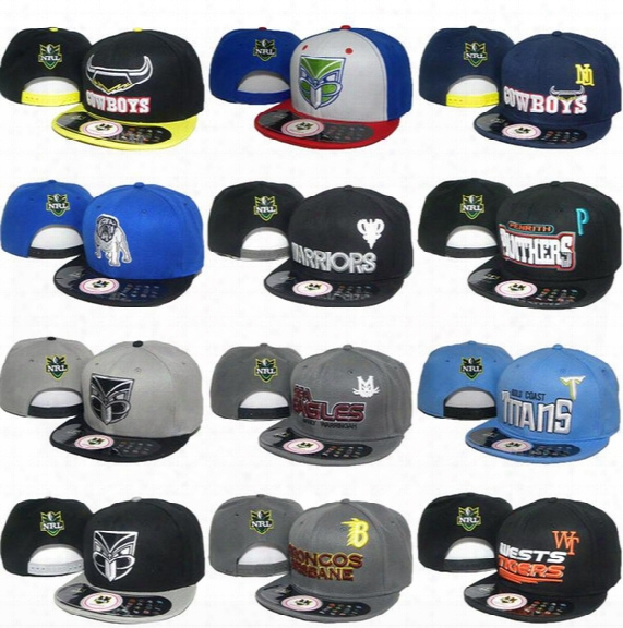 2017 New Men's 12 Styles Nrl Baseball Snapback Hats Women's Sport Adjustable Caps Fashion Hip Hop Chapeaus