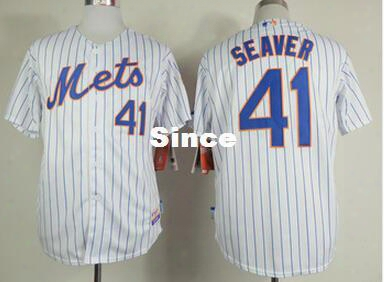 30 Teams- #41 Tom Seaver New York Mets Jersey Mens Stitched Baseball Jerseys,us Standard Size Free Shipping 115