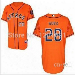 30 Teams-wholesale Cheap 2014 Men& Amp;#039;s Women's Youth Baseball Jerseys Houston Astros #28 Lj Hoes Cool Base Jerseys Embroidery Logos Size S~xxxl