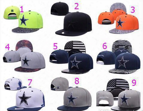 Album Offered 100% Top Quality 2016 Newest Cowboys Dallas Snapbacks Cap Adjustable Baseball Caps Hip Hop Hat Summer Fashion Hats Snap Back