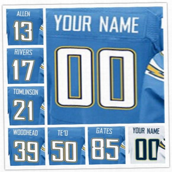 America Jersey Men #13 Keenan Allen #17 Philip Rivers #21 Ladainian Tomlinson #39 Danny Woodhead #50 Manti Te'o #85 Antonio Gates Jerseys