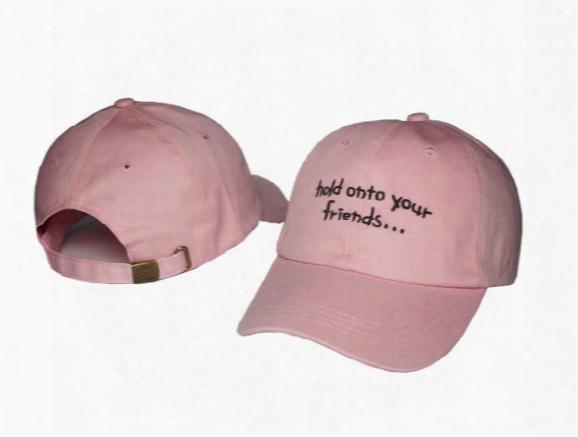 High Quality Outdoor Visor Black Pink Strapback Wiz Khalifa Hats 6 Panel Snapback Polos Baseball Cap Denim Hat
