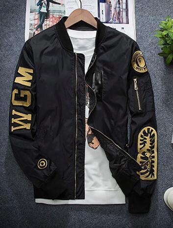 Hot Sales Fall Jdv Embroidery Baseball Clothing Men's Tide Male Korean Men's Coat Thin Coat Jacket Youth Free Shipping
