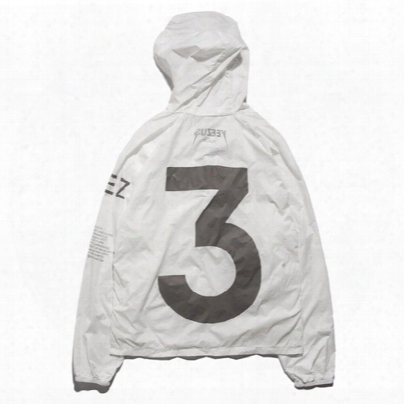 Jacket Men High Quality Windbreaker Kanye Yeezus Tour Jackets Baseball Jaqueta Masculina Jacket Brand Clothing