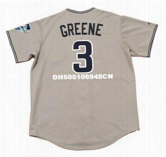Khalil Greene San Diego Padres 2004 Majestic Throwback Away Baseball Jersey