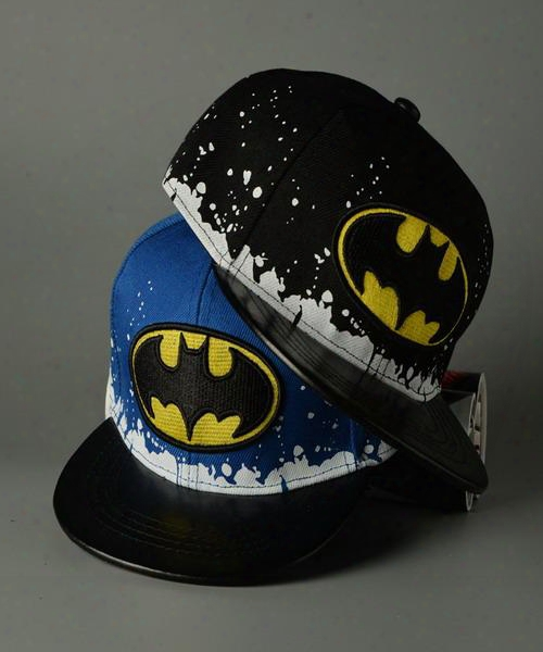 Kids Hats Children Hip Hop Cap Boys Girls Batman Korean Fashionâ children Boys Girls Baseball Snapback Hat