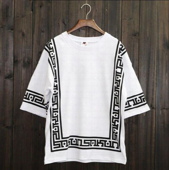 Ktz Half Sleeve Baseball Hip Hop T-shirt Religion Geometric Bandana Shirt Vintage Rock Tee Shirts Loose Plus Size Streetwear Xxl