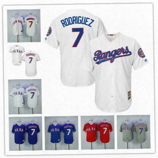 Men's Ivan Rodriguez Jersey With 2017 Hall Of Fame Patch Texas Rangers 1995 Baseball Cooperstown Vintage Flexbase Cool Base