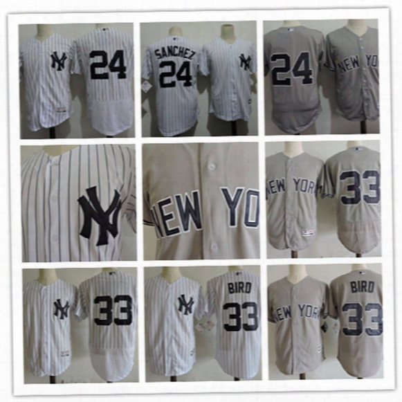 Mens New York Yankees #24 Gary Sanchez Blue 2017 Mlb All-star Game Home Run Derby Player Jersey #33 Greg Bird Yankees Flex Base Jersey S-3xl