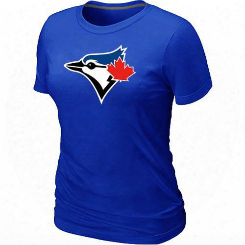 Mlb T-shirts 2017 Baseball Toronto Blue Jays Women's Tops T-shirts 100% Cotton Short Sleeve Round Neck Manny Colors In S-3xl Free-shipping