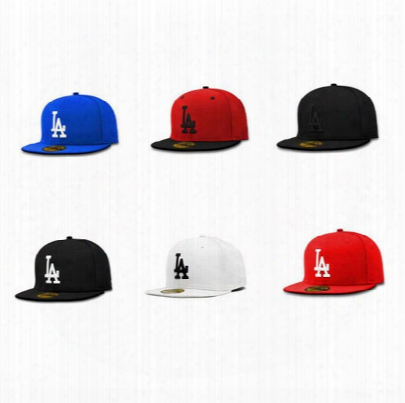 New Brand La Embroidered Snapbacks Hats1 00% Cotton Six Colors Top Quality Hip Hop Dancing Baseball Caps Wholesale