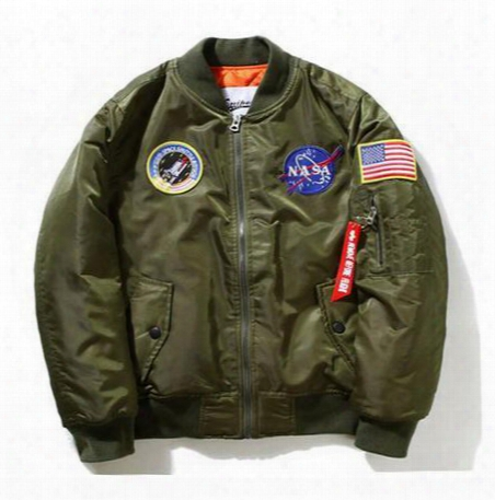 New Men Jackt Nasa Air Force Pilot Luxury Brand Windproof Bomber Jacket Us Style Army Waterproof Men Baseball Thicken Coat