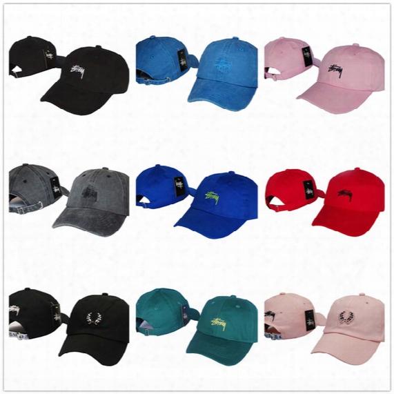 New Style Fashion Adjusstable Men Women Cap Snapback Hip Hop Hats Outdoor Sports Casual Snap Back Caps Team Baseball Hats Wholesale Stussy