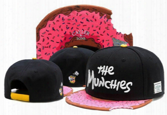 New Style Flower Label Snapback Cap Hip Hop Cap Cayler & Sons Snapback Fashion Baseball Caps Gorras Sport Snap Back Hat