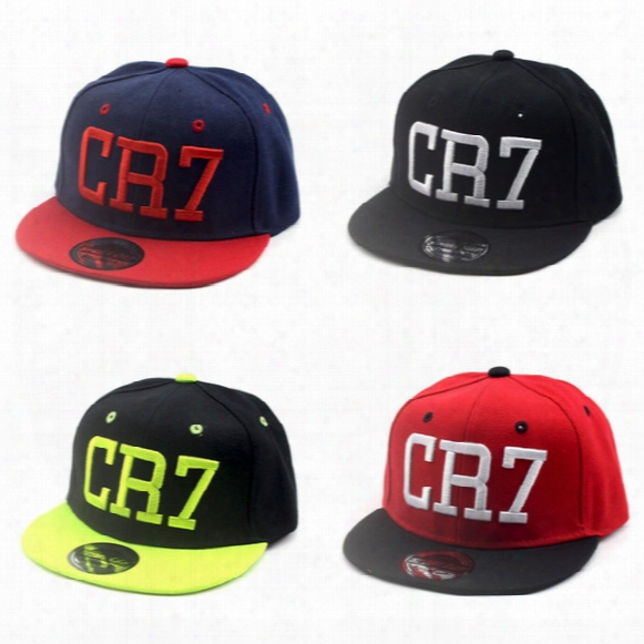 Ronaldo Cr7 Baseball Caps Cotton Cr7 Caps Snapback Hip Hop Fashion Hat Kids Baloncesto Caps Bone Snapback Aba Reta Snap For Children Boys