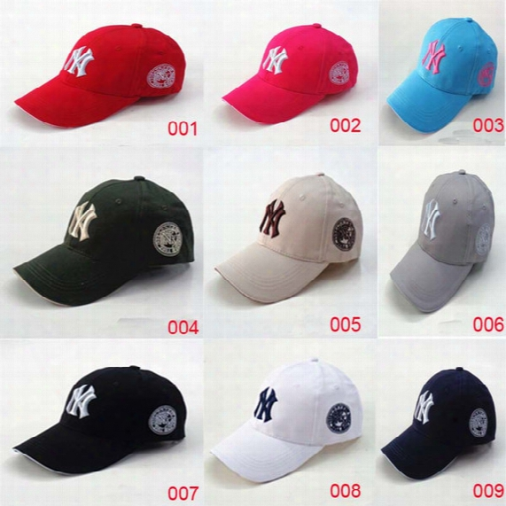 Spring And Summer Ny Baseball Cap Embroidery Letters And Outdoor Leisure Sports Men And Women Peaked Caps
