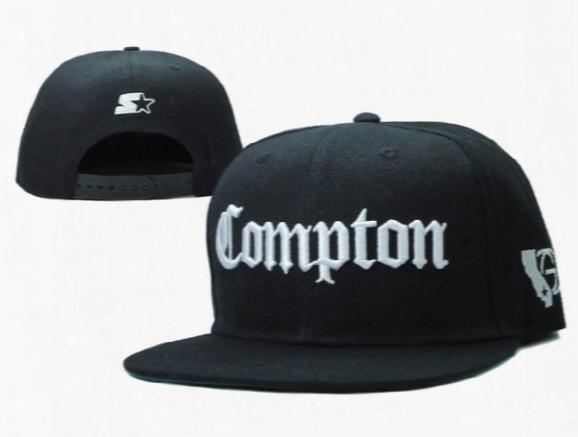 Ssur Compton Snapback Hats Starter Compton Men's And Women Exclusive Adjustable Baseball Caps ,hiphop Bboy Street Dancer Cap.
