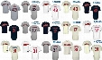 2017 Cleveland Indians Josh Tomlin Terry Francona Danny Salazar Mens Womens Youth Throwback Cool Flex Baseball Jerseys Grey White Navy blue