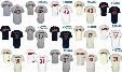 2017 Cleveland Indians Josh Tomlin Terry Francona Danny Salazar Mens Womens Youth Throwback Cool Flex Baseball Jerseys Grey White Navy blue