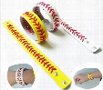 20pcs/lot Leather Baseball or Softball Bracelet with Red Stitching and Snap Closure Sports