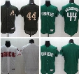 Hot Sale Arizona Diamondbacks DBACKS # 44 Goldschmidt Blue Army Green White Grey Black Baseball Jerseys