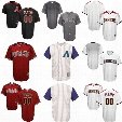 Hot Sale! Men's Arizona Diamondbacks Majestic Cool Base Jerseys Stitched Name And Number Size S-4XL