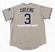 KHALIL GREENE San Diego Padres 2004 Majestic Throwback Away Baseball Jersey