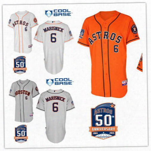 Top Quality Houston Astros 6 Jake Marisnick Baseball Jerseys Personalized Embroidered Jersey Stitched Shirt Freeshipping