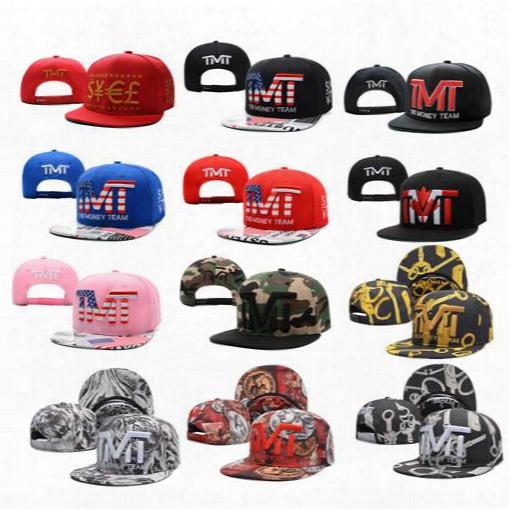 Wholesale-full Black The Team Money Snapback Caps Hiphop Adjustable Hat Men & Women Classic Baseball Hats Cheap