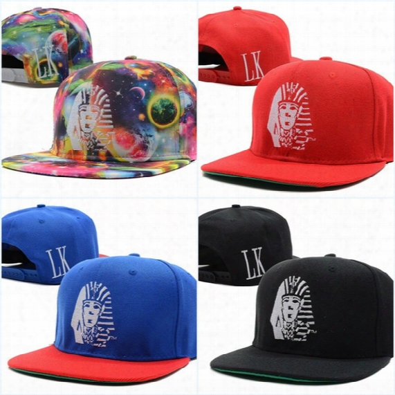 Wholesale-last Kings Lk Adjustable Swag Snapback Caps Hip Hop Cap Baseball Hat Hats For Men Women Snapbacks Gorras Bone Aba Reta Toca Rap